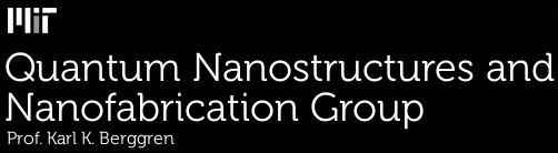 Quantum Nanostructures and Nanofabrication Group