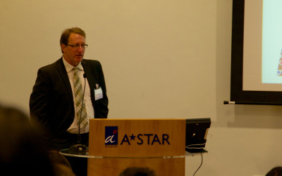 Dr Jeffrey Morse speaking at the U.S.-Singapore Workshop on Nanomanufacturing Technologies